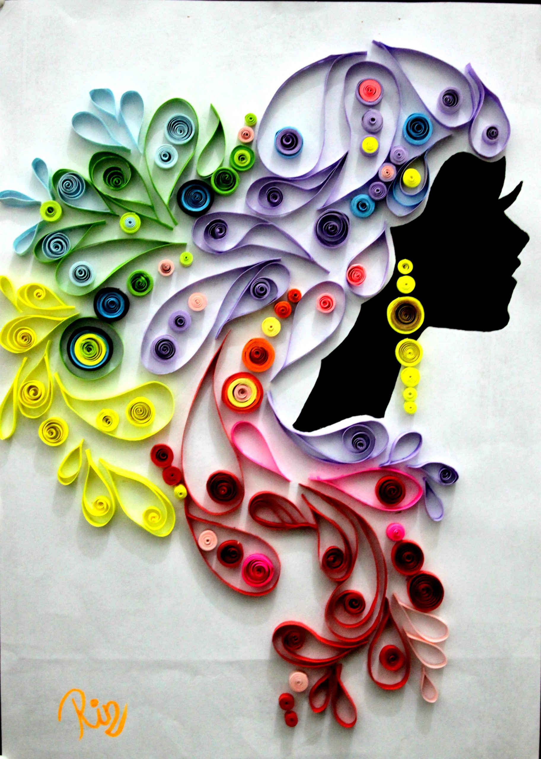 women quilling paper scaled
