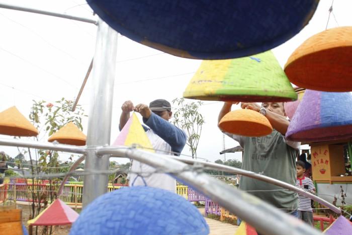Taman Limo Jatiwangi Wisata Keluarga Murah Meriah Di