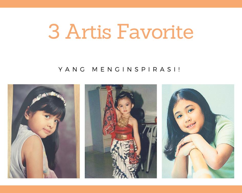 3 artis cilik favorite yang menginspirasi