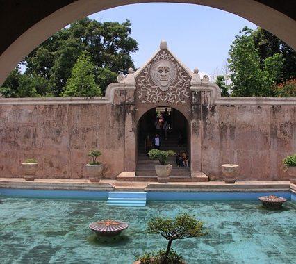 taman sari, wisata sejarah di Jogja