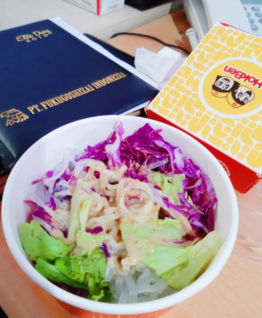 tokyo salad bowl japanese dressing