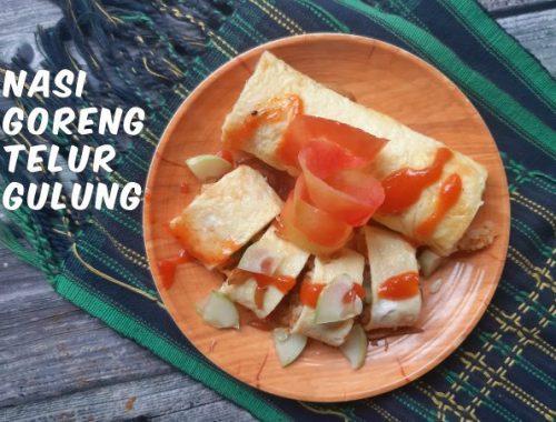 nasi goreng telur gulun untuk menu sahur dan berbuka puasa