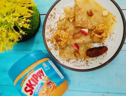 resep buka puasa skippy peanut butter crepe