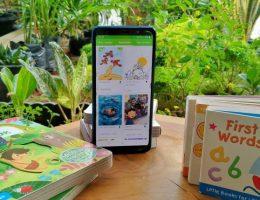 mengajak anak gemar membaca bersama let's read