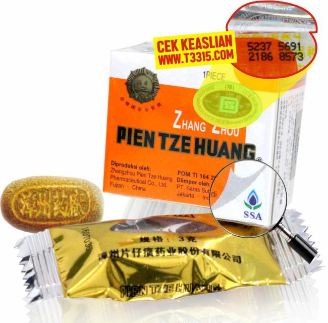 mengobati penyakit tipes dengan obat pien tze huang