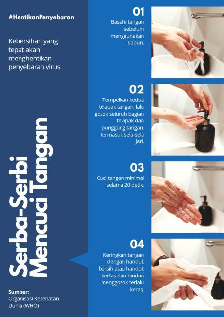 serba-serbi mencuci tangan mencegah penularan virus corona