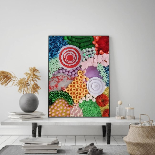 aboutt quilling coral reef