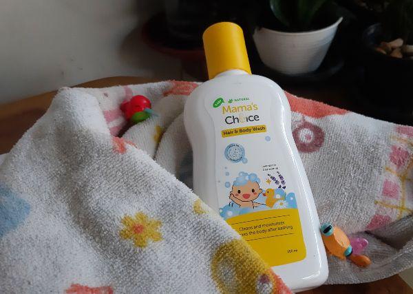 produk hair and body wash untuk kulit sensitif