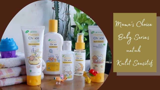 produk kulit sensitif mama's choice