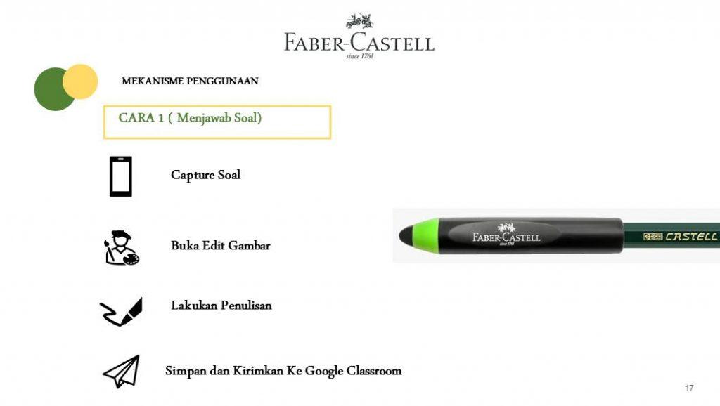 paket belajar faber castell untuk PJJ