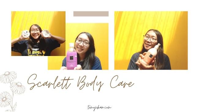 rangkaian body care scarlett whitening