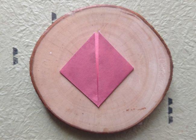 bentuk lipatan persegi