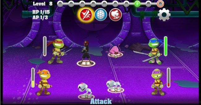 game online teenage ninja trutle