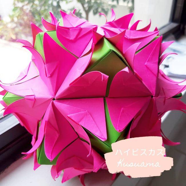 kerajinan kusudama origami