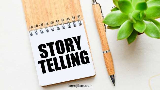 making tips storytelling