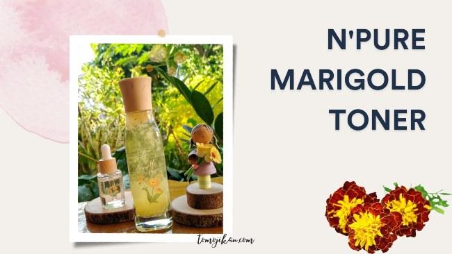 npure marigold face toner