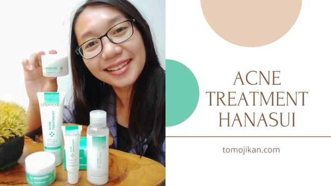 acne treatment series hanasui
